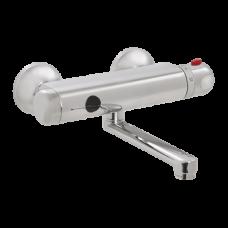 Автоматический настенный термостатический смеситель расстояние подачи воды 150 мм, 24 В пост. SLU 25S