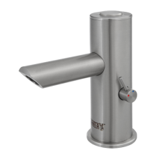 Автоматический смеситель, удлиненный излив, пьезо, 6 В SLU 92NPDB