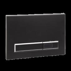 Автоматическое устройство смыва унитаза для рамы с бачком SLR 21, черная пластмасса, 24 В пост. SLW 02F  SANELA