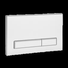 Кнопка для механического смыва для рамы SLR 21, белая пластмасса SLW 50  SANELA