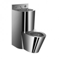 Унитаз литой напольный с встроенной раковиной MF-235