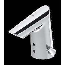 Бесконтактный смеситель для умывальника с рукояткой регулировки температуры Oras Optima 1714F