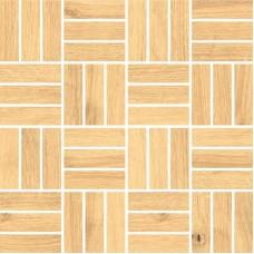 Мозаика на сетке Cersanit Woodhouse бежевый 30x30 WS6O016