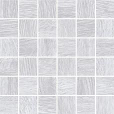 Мозаика на сетке Cersanit Woodhouse светло-серый 30x30 WS6O526