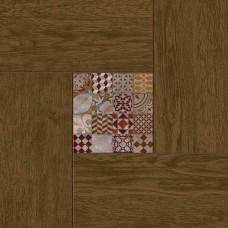 Керамогранит Cersanit Bellariva коричневый 42x42 BL4R112
