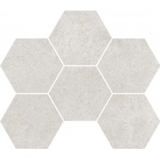 Мозаика на сетке Cersanit Lofthouse светло-серый 28,3x24,6 LS6O526