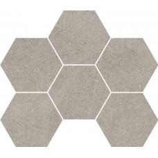 Мозаика на сетке Cersanit Lofthouse серый 28,3x24,6 LS6O096