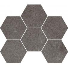 Мозаика на сетке Cersanit Lofthouse темно-серый 28,3x24,6 LS6O406