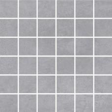 Мозаика на сетке Cersanit Townhouse серый 30x30 TH6O096