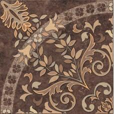Напольное панно Cersanit Pompei коричневый 84x84 PY6R114