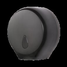 Держатель больших рулонов туалетной бумаги, материал черный пластик ABS SLDN 01N