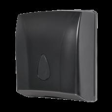 Держатель бумажных полотенец, материал черный пластик ABS SLDN 03N
