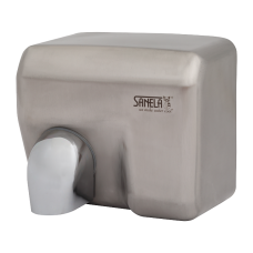 Нержавеющая автоматическая электрическая настенная сушилка для рук, матовая поверхость SLO 02E