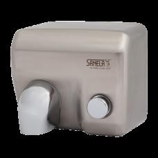 Нержавеющая механическая электрическая настенная сушилка для рук, матовая поверхость SLO 02M