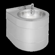 Нержавеющий подвесной питьевой фонтан с нажимной арматурой SLUN 14