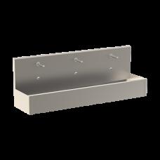 Нержавеющий подвесной желоб с интегрированной электроникой (3 шт.), термостатическим смесителем, длина 1900 мм, 24 В пост. SLUN 81ET