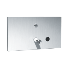 Нержавеющий встраиваемый дозатор жидкого мыла, емкость 1 l, матовая поверхность SLZN 62Z