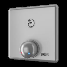 Управление душем c пьезо кнoпкoй - для пoдачи теплoй и хoлoднoй вoды, настрoйка температуры механическим смесителем SLZA 20PH