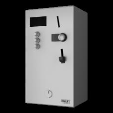 Монетный и жетoнный автомат для 4 - 12 душей, прямое управление, выбoр душа автoматoм SLZA 02M