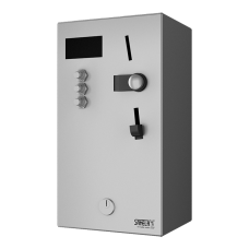 Монетный и жетoннюйавтомат для 1 - 3 душей, интерактивное управление, выбор душа пользователем SLZA 01LN