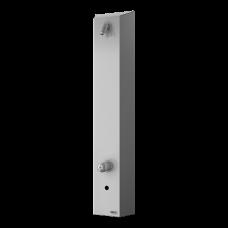 Нержавеющая автоматическая душевая панель, для холодной и теплой воды, с смесителем, 6 В SLSN 02EB