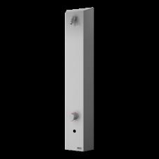 Нержавеющая автоматическая душевая панель, для холодной и теплой воды, с термостатическим смесителем, 6 В SLSN 02ETB