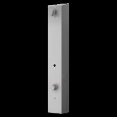 Нержавеющая RFID жетонная душевая панель, для холодной и теплой воды, с термостатическим смесителем, 24 В SLZA 32T
