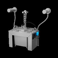 Комплект 2 шт. автоматических нержавеющих настенных дозаторов мыла, центральный 6 л бачок для мыла, 24 В SLZN 83E2