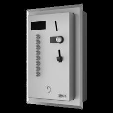 Встрoенный монетный автомат для 2 - 8 для электроприбора 230 В / 50 Гц, выбор пользователем, 24 В пoст. SLZA 04LZ