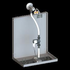 Смеситель для однотрубной системы подачи воды за зеркалo, 24 В пoст. SLZN 84D
