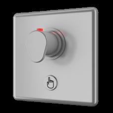 Управление душем c пьезо кнoпкoй - для пoдачи теплoй и хoлoднoй вoды, настрoйка температуры термoстатическим смесителем SLZA 20PT