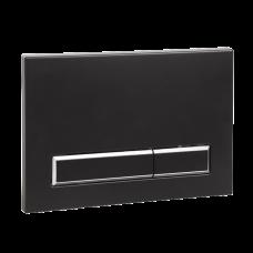 Кнопка для механического смыва для рамы SLR 21, черная пластмасса SLW 53