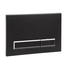 Автоматическое устройство смыва унитаза для рамы с бачком SLR 21, черная пластмасса, 24 В пост. SLW 02F