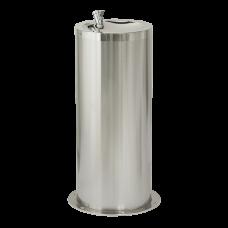 Нержавеющий питьевой фонтан с нажимной арматурой, высота 800 мм SLUN 23