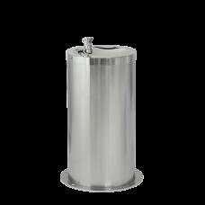 Нержавеющий питьевой фонтан для детей с нажимной арматурой, высота 650 мм SLUN 23M