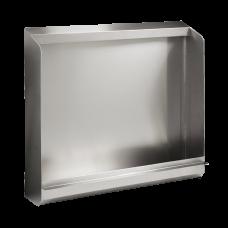 Антивандальный нержавеющий наполный писсуаровый желоб, без электроники, 600 мм SLPN 02Z
