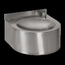 Нержавеющий питьевой фонтан с автоматической арматурой, 24 В пост. SLUN 62E