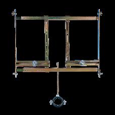 Монтажная рама для писсуарa с радарным устройством смыва, которое расположено за писсуаром SLR 01
