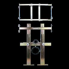 Монтажная рама в гипсокартон для подвесного унитаза и устройства смыва туалетов SLR 03N