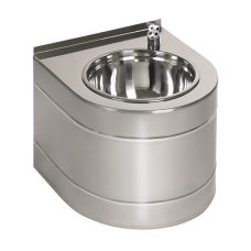 Нержавеющий питьевой фонтан с автоматической арматурой, 24 В пост. SLUN 14E
