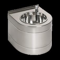 Нержавеющий питьевой фонтан с автоматической арматурой, 6 В SLUN 14EB