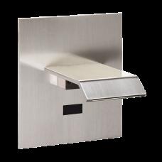 Автоматический настенный смеситель для подачи холодной и теплой воды, матовая поверхность, 24 В пост. SLU 14X - SANELA