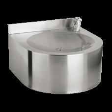 Нержавеющий питьевой фонтан с нажимной арматурой SLUN 62