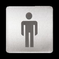 Табличка - туалет господа SLZN 44AA