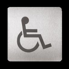 Табличка - туалет инвалиды SLZN 44AC