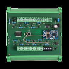 Распределитель кнопок для установки на DIN рейку в распределительной шкаф SLZA 17