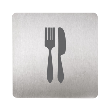 Табличка - вилка и нож SLZN 44U