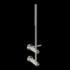 Нержавеющий вертикальный держатель для двух рулонов туалетной бумаги, матовая поверхность SLZN 47D