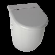 Писсуар Casa с крышкой с радарным устройством смыва, с встроенным источником питания, 230 В/ 50 Гц SLP 33RZ