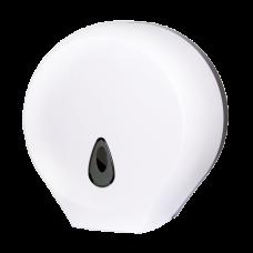 Держатель больших рулонов туалетной бумаги, материал белый пластик ABS SLDN 01